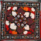 Hand-Embroidered, Mirrored Cushion Cover--TE-005