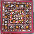 Hand-Embroidered, Mirrored Cushion Cover--TE-010