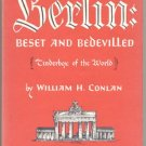 Berlin Wall Germany BESET BEDEVILLED History West East WWII 1*DJ '63