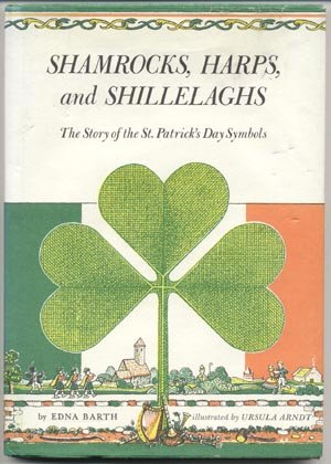 Shamrocks Harps Shillelaghs ST PATRICK'S DAY IRISH BOOK