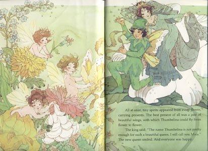 Thumbelina HANS CHRISTIAN ANDERSEN Nigognossian HB Book
