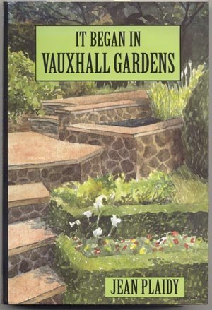 Vauxhall Gardens VICTORIAN ENGLAND Jean Plaidy LARGE PRINT DJ