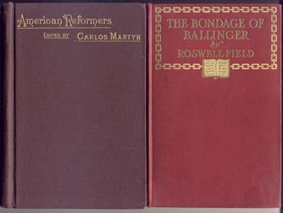 Bondage of Ballinger ANTIQUE BOOKMAN Bibliophile Roswell Field 1903 HB