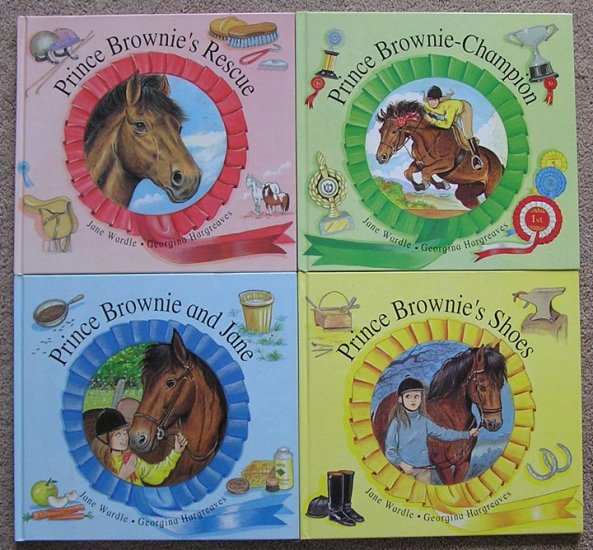 4Bk Lot Prince Brownie HORSE RIDING Show Jumping RACING Equestrian PONY Jane Wardle HB