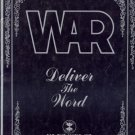 WAR Deliver the Word MUSIC SONGBOOK Guitar PIANO Vocals LYRICS SHEET MUSIC