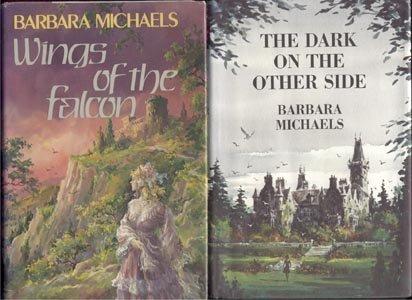 Wings of the Falcon BARBARA MICHAELS MYSTERY Elizabeth Peters 1977 1*DJ