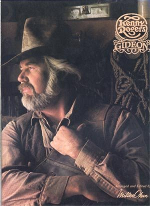 KENNY ROGERS Gideon GUITAR SONGBOOK Piano Guitar Vocal Lyrics COUNTRY POP