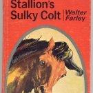 Black Stallion's Sulky Colt HORSE RACE Walter Farley NICE 1954 HB