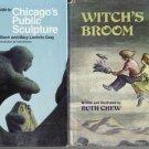 Witch's Broom MAGIC STORY Ruth Chew RARE 1977 1st DJ