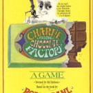 Charlie and the Chocolate Factory ROALD Dahl ORIGINAL BOARD GAME 1978