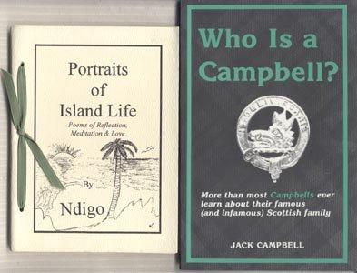 PORTRAITS OF ISLAND LIFE Caribbean Native RARE POEMS Ndigo Naka 1st Printing