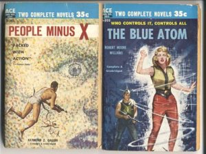ACE DOUBLE Robert Williams BLUE ATOM Void Beyond & Other Pulp Sci-Fi~PBO
