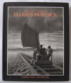 Mysteries of Harris Burdick CHRIS VAN ALLSBURG Polar Express 1st DJ