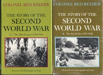 WWII Story Allies Conquer 1942-1945 D-DAY Germany NORMANDY Col Reeder DJ