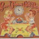 GOOD TIMES ALL DAY Rare Primer Early Reader COCKER SPANIEL Dog DICK & JANE Sam