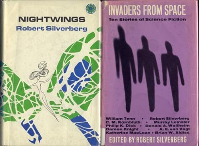 NIGHTWINGS Robert Silverberg FANTASY Sci Fi Science Fiction RARE 1970 1st DJ