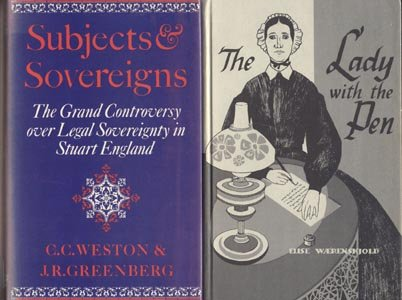 Subjects & Sovereign STUART ENGLAND History POLITICS Hierarchy PARLIAMENT C. Weston 1st DJ