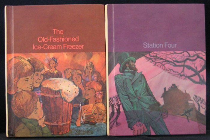 Old Fashioned Ice Cream Freezer SRA COMPREHENSIVE READING PROGRAM SERIES J Poems Stories HB