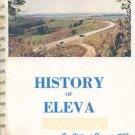 History of Eleva New Chicago WI Genealogy ALBION Vintage Photo MAPs 75th Anniversary 1902-1977 Guide