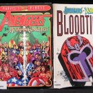 4 Books Avenger X-Men Comic Digest UTRON UNLIMITED Morgan Conquest BLOODTIES Nights of Wundagore