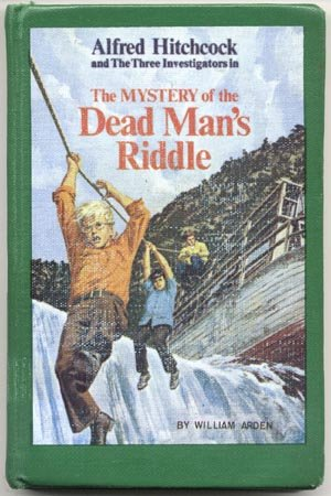 Alfred Hitchcock & 3 THREE INVESTIGATORS Mystery of Dead Man's Riddle #22 1st HB