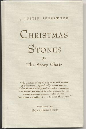 Christmas Stones & Story Chair WISCONSIN Justin Isherwood SIGNED Mary Casey Martin HB
