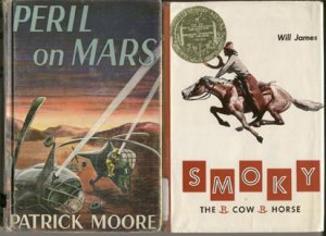 SMOKY THE COW Horse Story QUARTERHORSE Will James NEWBERY MEDAL WINNER 1954 HB DJ