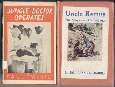 UNCLE REMUS His Songs & Sayings JOEL HARRIS A B Frost TAR BABY Folk Tales WHY NEGRO IS BLACK HB