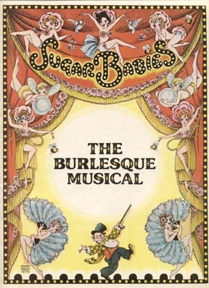 RARE Sugar Babies Burlesque Musical ANN MARGARET Hilary Knight MICKEY ROONEY Souvenir Scrapbook