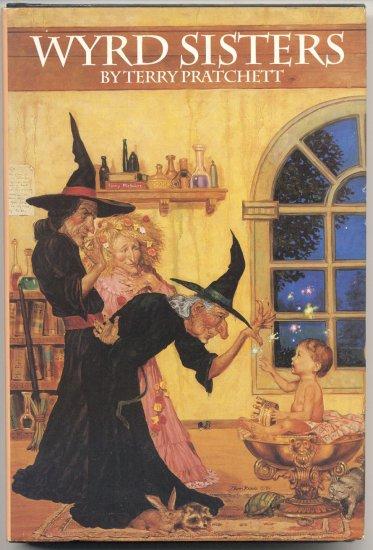 Wyrd Sisters WEIRD Fantasy DISCWORLD Terry Pratchett 1988 MINT HB DJ