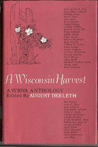 WISCONSIN HARVEST August Derleth WI Authors History Fairy Folk Tales Stories 1st DJ