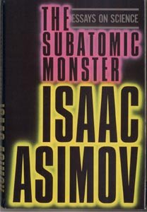 Subatomic Monster SCIENCE Chemistry PHYSICS Asimov 1*DJ