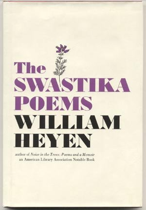 Swastika Poems NAZI POETRY Jewish Holocaust WWII History GERMANY William Heyen  1st Ed HB DJ
