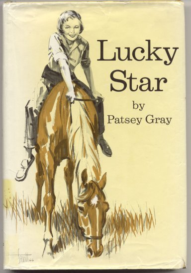 Lucky Star STALLION Santa Cruz Mountains HORSE BOOK Debbie Bell KID Patsey Gray 1st EDITION w DJ