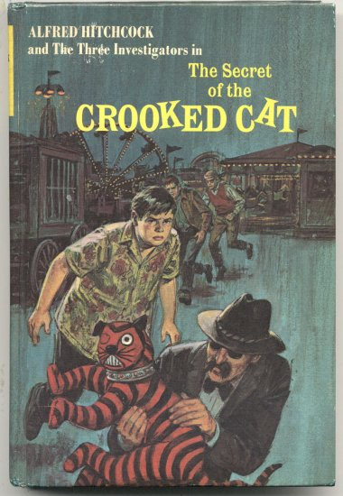 ALFRED HITCHCOCK 3 Three Investigators SECRET OF THE CROOKED CAT # 13 Robert Arthur ARDEN HB