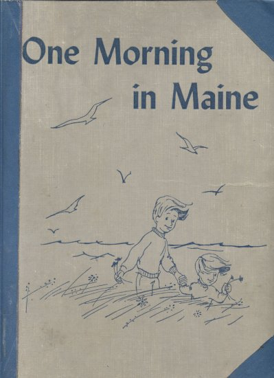 One Morning In Maine CALDECOTT AWARD Island LOOSE TOOTH Robert McCloskey 1952 1st HB