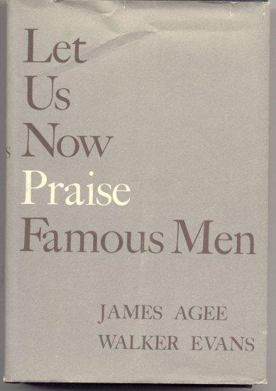 Let Us Now Praise Famous Men ALABAMA Southern Sharecropper Family JAMES AGEE Walker Evans 1960DJ