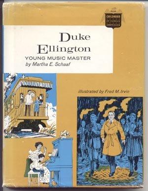DUKE ELLINGTON Young Music Master CHILDHOOD OF FAMOUS AMERICANS Jazz Piano Bandleader COFA 1st DJ