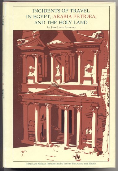 Incidents of Travel in Egypt Arabia Holy Land JOHN STEPHENS Cairo ALEXANDRIA Middle East 1970 w DJ