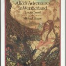 ALICE Alice's Adventures in Wonderland LEWIS CARROLL Michael Hague HB DJ