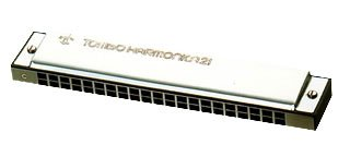 Harmonica - TREMOLO 21 (No.3121) 12 Major Keys C