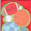 8 Sports Birthday Party Invitations
