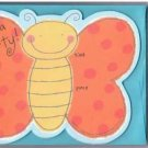 8 Butterfly Birthday Party Invitations