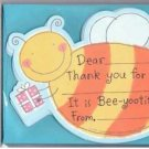 8 Bee Thank You Cards