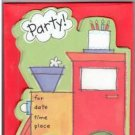 8 Train Birthday Party Invitations