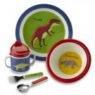 5 Piece Melamine Children's Dish Set