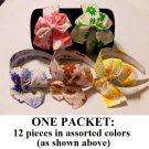 $1.00 PER PIECE; Flower Printed Headband with Bow (12 pieces)