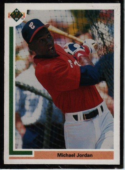 1991 Upper Deck Sp1 Michael Jordan Baseball Card,cards