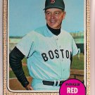 1968 Topps Dick Williams #87 Boston Red Sox Baseball Card, cards