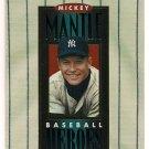Micky Mantle 1994 Upper Deck Hero Header Baseball Card cards